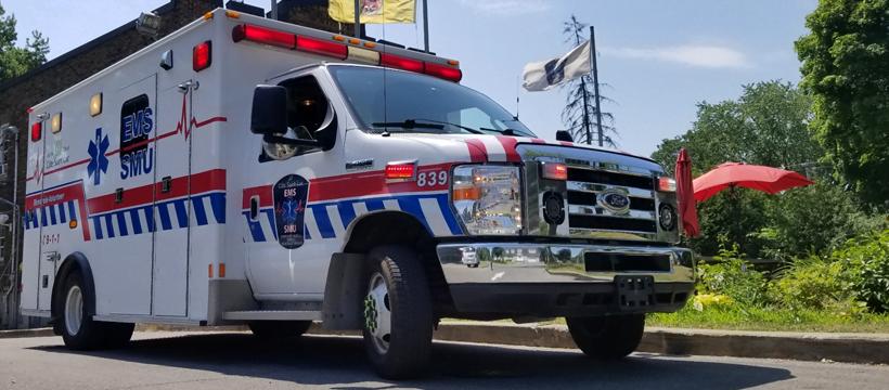 EMS Ambulance 839